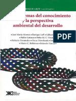 Los Problemas Del Conocimiento y La Perspectiva Ambiental Enrique Leff 1986