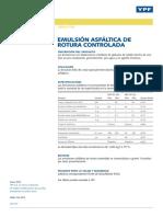 Emuls Asf Rotura Controlada