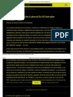 Historia Del Derecho Laboral en El Salvador _ Monografías Plus