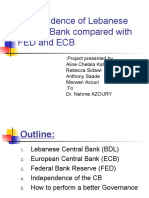 Bdl Compared to Fdl and Ecb