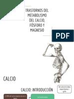 TRASTORNOS DEL CALCIO
