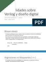 Generalidades Sobre Verilog y Diseño Digital