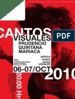 Postal Cantos Visuales