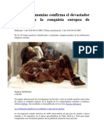 El ADN de Momias Confirma El Devastador Impacto de La Conquista Europea de América