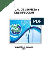 003 -Manual de Limpieza y Desinfección 2011