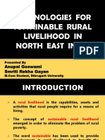 technlogies for sustainable rural livelihood