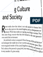 Hand out 5 society and culture