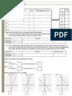 Ficha de Ecaluacion Formaicon de Funciones Lineales