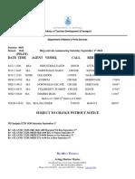 Weekly Shipping September 1 2018