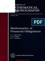 Mathematics of Financial Obligations