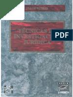 Técnicas de la Investigación Jurídica_ Jorge Witker.pdf