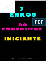 7 Erros Do Compositor Iniciante