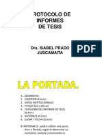 Protocolo de Informe