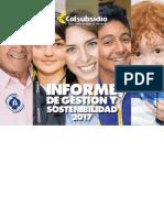 Informe de Gestion y Sostenibilidad 2017 Publicar