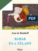 Jean de Brunhoff - Babar és a Télapó.pdf