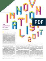 ALB Innovation List 2017
