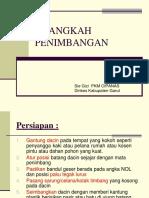 9 langkah penimbangan