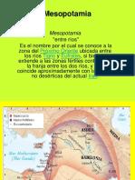 Presentacion Mesopotamia Epoca Antigua