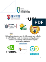 AI and Deep Learning Skilling and Research-Details