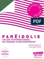Dossier de Presse-Pareidolie 2018