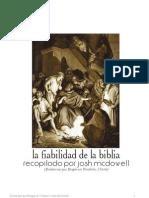 La Fiabilidad de La Biblia - Josh Mcdowell