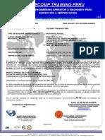 199-Certificado de Operatividad