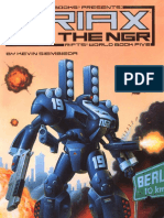 Rifts - World Book 05 - Triax and the NGR