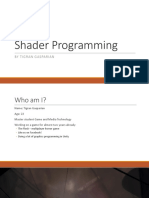 Lecture4 - Guest Lecture Shaders