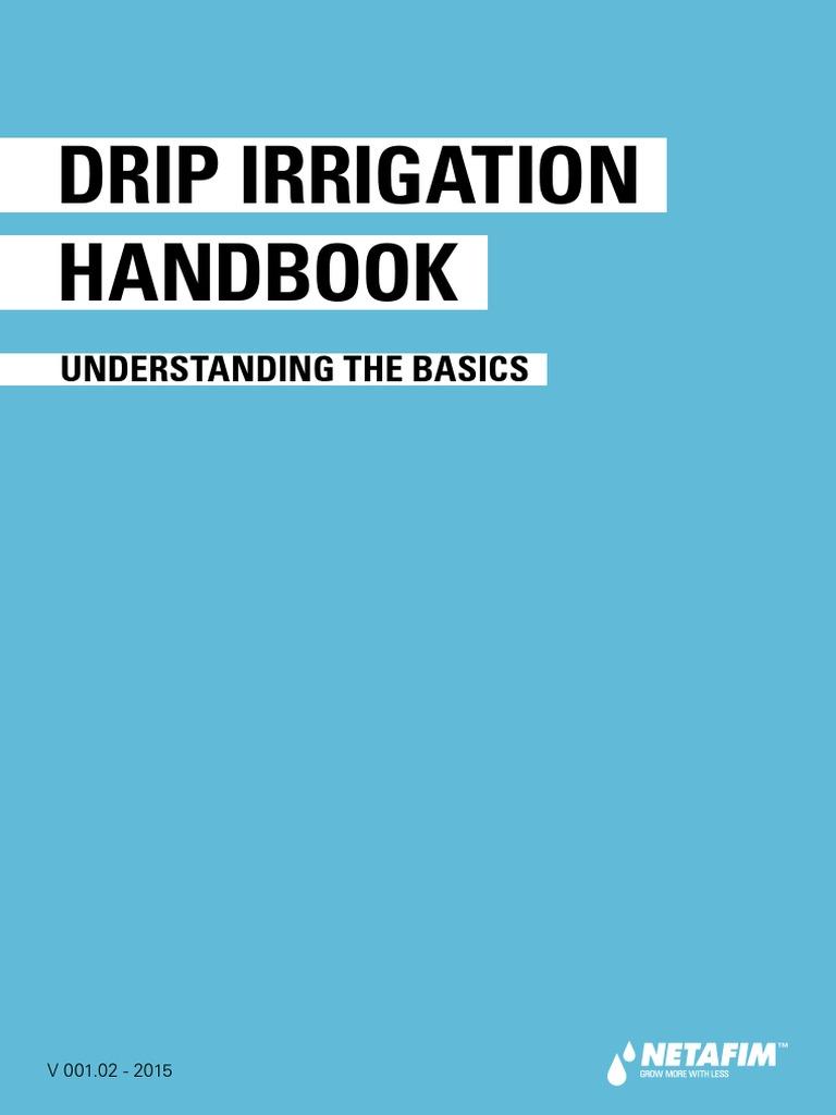 Netafim Drip Irrigation System Handbook Filtration Pump