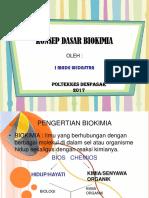 Konsep Dasar Biokimia