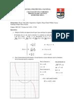 Proyecto de Cálculo