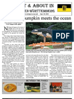 Out and About news letter