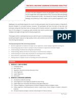 Big Data & Business Analytics - SIMSREE