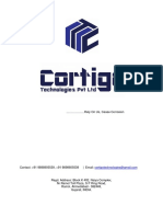Company Profile_Cortigo Technologies Private Limited