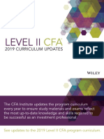 CFA L2 2019 Changes