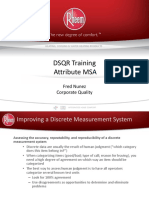 Attribute MSA Training
