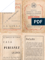 Primera Exposición AFAL 14-21 de Julio 1957