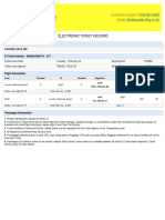 e Ticket