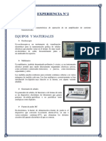 Informe 2 Electronicos 2