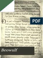 Beowulf MS (Zupitza 1882)