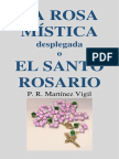 La Rosa Mística desplegada o El Santo Rosario MARTINEZ VIGIL