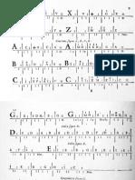 Alfabeto & Tab Pieces by Calvi for Baroque Guitar