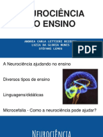 Neurociência no Ensino de Sala de aula