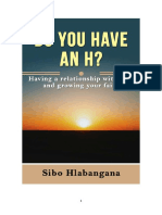 DO YOU HAVE an H by Sibo Hlabangana