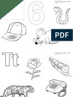 Pagini Pentru Colorat Pentru Literele c899 t c89b