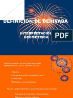 INTERPRETACIÓN GEOMÉTRICA DE LA DERIVADA.ppt