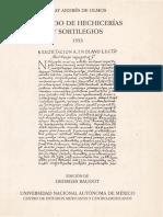 Fray Olmos Andres De - Tratado De Hechicerias Y Sortilegios (1553).pdf