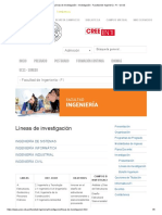 Líneas de Investigación - Investigación - Facultad de Ingeniería - FI - UCSS