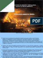 LEGISLACION SECTORIAL AMBIENTAL