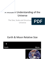 scale size and structure of the universe  1